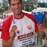 Jean-Baptiste Arnaud en bronze au Javelot aux Championnats de France Elite 2009 à Angers