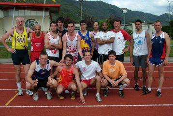 Photo de groupe des régionaux d'Épreuves Combinées 2010 à Foix