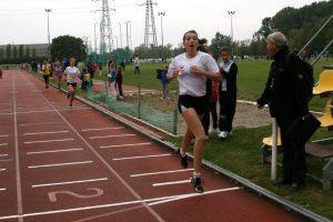 Emma Dupuy au challenge des 1000m 2010 à Sesquières