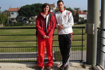 Shannon Izar et Bruno Bernard aux championnats interrégionaux d'épreuves combinées 2011 à Bompas