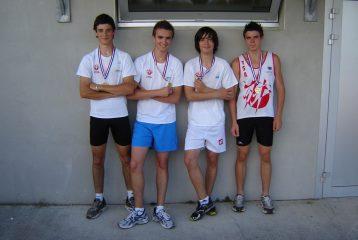 Les minimes du TSA médaillés aux championnats du Tarn BE-MI 2011 à Castres