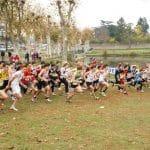 Départ de course Minimes-Cadets au cross de Carmaux 2011