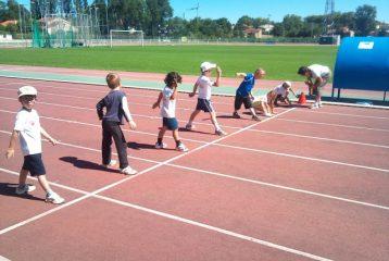 Entrainement athlé baby 2012 à Castres