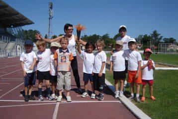 Olympiades athlé baby 2012 à Castres