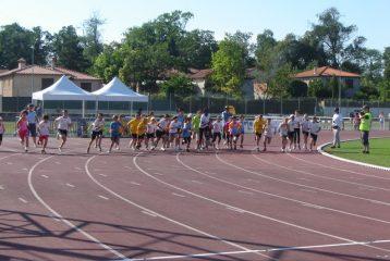 500m Poussins au Meeting de Castres 2012