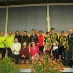 Podium des équipes du 10km de Castres 2014