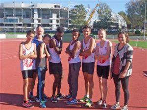 L'équipe Benjamins du TSA à la finale interregionale Équip'Athlé 2014 à Limoges