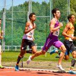 Léo Nocaudie sur 800m au 1er tour des interclubs 2015 à Sesquières