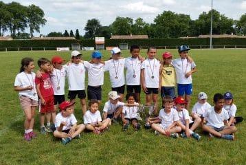 Le Castres Athlétisme au Trophée de l'Avenir 2015 à Vielmur