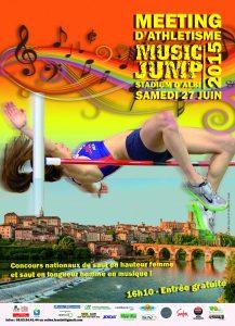 Affiche du Meeting Music Jump 2015