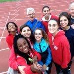 Les cadettes du TSA à la Finale Nationale du challenge Équip'Athlé 2015 à Sesquieres