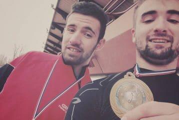 Thomas Loubat-Molinier et Guillaume Farenc Champions Midi-Pyrénées 2016 de marteau dans leur catégorie à Sesquière