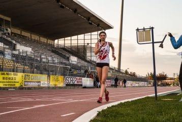 Clara Chamayou sur 3000m Marche au Meeting d'Albi 2016