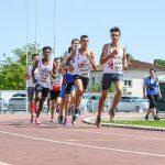 Le 1000m des Minimes aux Championnats du Tarn BE-MI 2016 à Castres