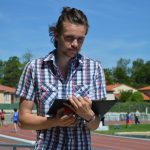 Steve Rémi, juge aux championnats du Tarn BE-MI 2016 à Castres