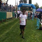 Baptiste Dieudé à l'arrivée de la Run CO 2016 à Castres