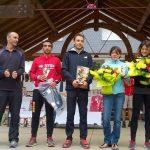 Benoit Galand sur le podium du trail des Novis 2016