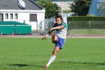 Shannon Izar lors de la finale Top 8 de rugby à 7 2016