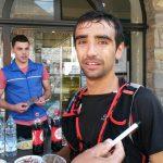 Benoit GALAND Champion de France de trail court des sapeurs-pompiers 2016 à Saint-Lary