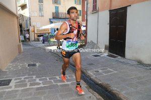 Benoit Galand aux championnats de France de Trail Court 2016 à Saint-Martin-Vésubie