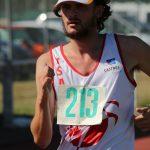 Steve Rémi sur 5000m marche au meeting de rentrée 2016 à Saint-Girons