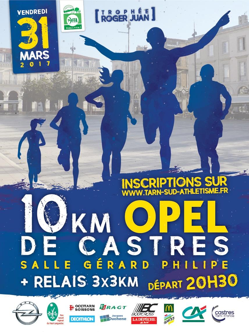 10km Opel de Castres 2017