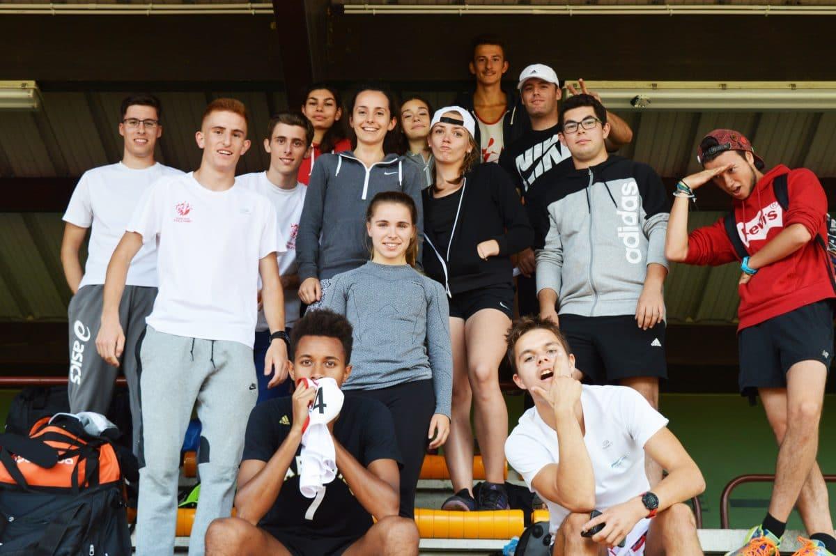 les cadets et juniors du TSA aux régionaux interclubs CA-JU 2016 à Sesquières