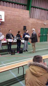 Alexia Vaissette 3ème de la course des AS au cross Jean-Vidal 2016 à Lescure-d'Albigeois