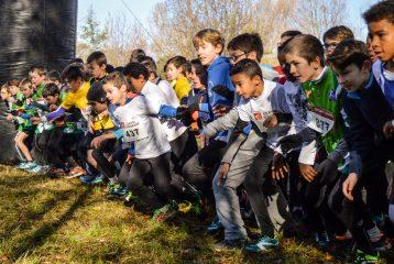 Départ des poussins au cross Guillaume Gomez 2016