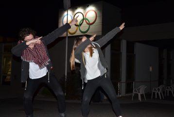 Fanny Mittou et Sarah Teysseyre à la soirée des champions 2016 à Balma