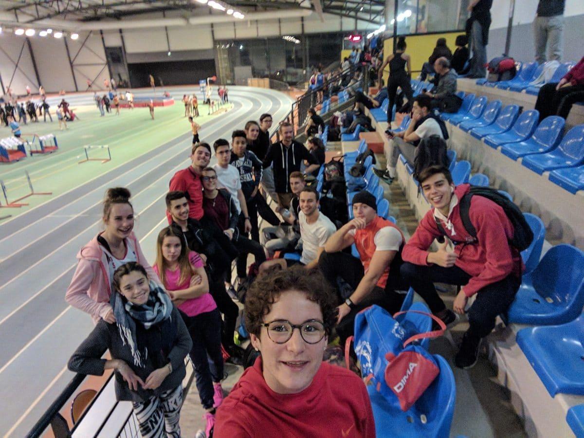 Le Tarn Sud Athlétisme au meeting régional en salle 2016 de Bompas