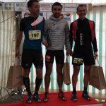 Benoit Galand vainqueur du 27km au Trail de l'Aqueduc 2017 à Cours