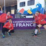 Nos 4 mousquetaires du TSA aux championnats de France de cross 2017 à Saint-Galmier