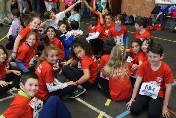 Les poussins à la deuxième journée du challenge départemental 2017 à Blaye-les-Mines