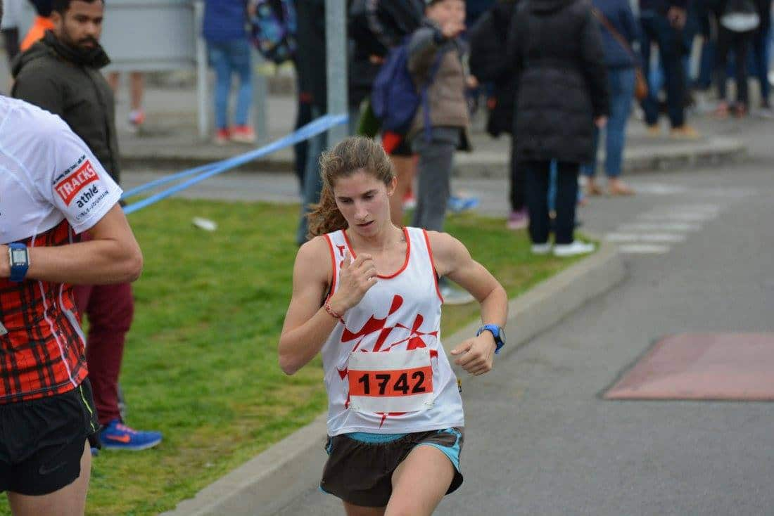 Julie Latger au 10km de Blagnac 2017