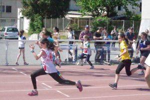 Du sprint à la 2ème journée du brassage benjamins-minimes 2017 à Castres