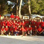 Le groupe au complet lors du stage d'Occitanie 2017 à Canet-en-Roussillon