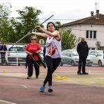 Iman Djebli-Romero lance le javelot au 1er tour des interclubs 2016 à Castres