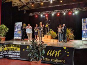 Jean-Baptiste Grand 1er espoir sur le 10km Opel de Castres 2017