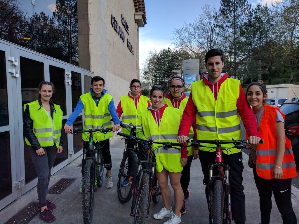 Une petite partie des bénévoles de cette édition 2017 du 10km Opel de Castres