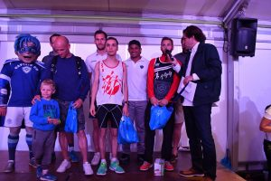 Podium du 10km de la Run CO Leclerc 2017 à Castres