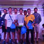 Podium du 5km de la Run CO Leclerc 2017 à Castres