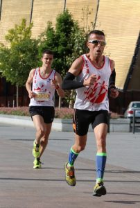 Abderrahim Djebli et Jean-Baptiste Grand sur le 10km du Marathon d'Albi 2017