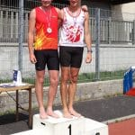 Eddy Rocchi champion d'Occitanie 2017 de décathlon en espoir à Saint-Chély-d'Apcher
