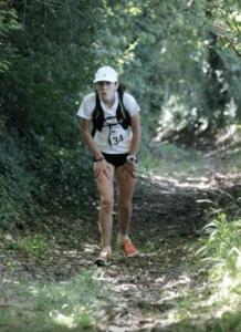 Alexia Vaissette au trail des Pigeonniers 2017 à Labastide-Gabausse