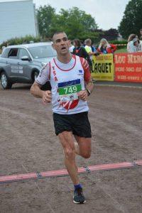 Enrico Ferré au semi-marathon d'Oloron-Sainte-Marie 2017