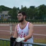 Baptiste Mariojouls aux championnats de France Cadets-Juniors 2017 à Dreux