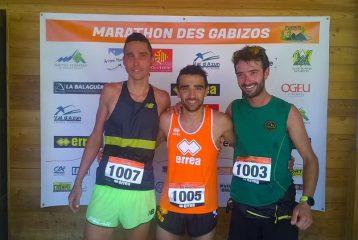 Benoit Galand vainqueur du 25km du Marathon des Gazibos 2017 à Arrens-Marsous