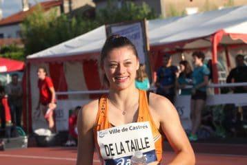 Eloise De La Taille au Meeting de Castres 2017