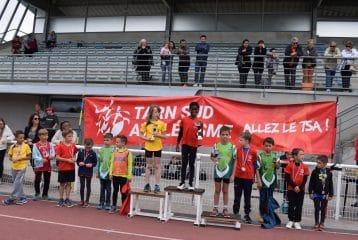 Podium masculin du Trophée de l'Avenir 2017 à Castres